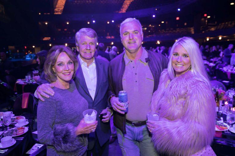 Susan and John Schweitzer, Britt and Bridgette Hager