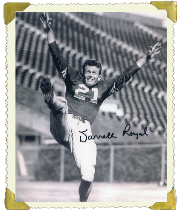 Vintage Darrell K Royal photograph