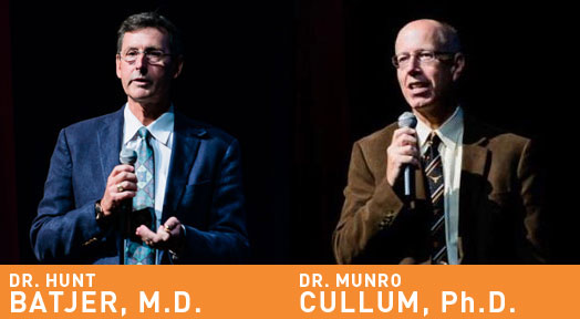 Field experts Hunt Batjer, M.D. and Munro Cullum, Ph.D.,