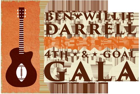 Ben Willie Darrell present 4th & Goal Gala