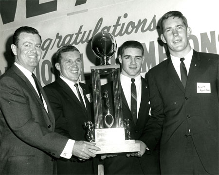 Darrell K Royal - trophy, 1963